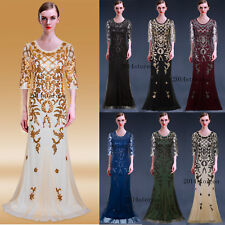 Long Evening Dresses Wedding Gowns 1920's Flapper Dress Christmas Costumes Party