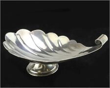 """Vintage 1950's TANE ORFEBRES - Sterling Silver Mexican Shell Dish - 9x4x4"""""""