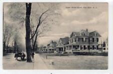 UPPER BROAD STREET, RED BANK: New Jersey USA postcard (C31656)