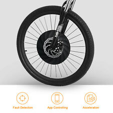"""YUNZHILUN iMortor 26 """"Elektro-Front Fahrrad Rad mit BT4.0 App für Android IOS DE"""