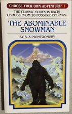 Choose Your Own Adventure #1 Abominable Snowman (2005) Chooseco illust. pb 1st
