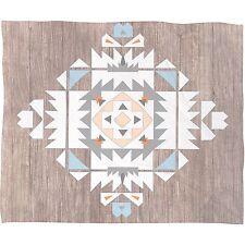 Deny Designs Iveta Abolina 'Tribal' Fleece Throw Blanket 80 x 60, Retail $99