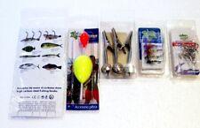 Accesorios de Pesca Anzuelos, ancoretas, cascabeles, azuelos mosca, boya