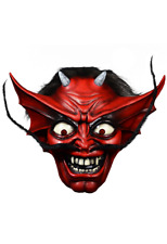 Halloween Iron Maiden - Number of the Beast Devil Latex Deluxe Mask Pre-Order