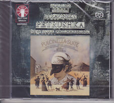Pierre Boulez Conducts Stravinsky Petrushka & Pulcinella Suite Paul Jacobs SACD