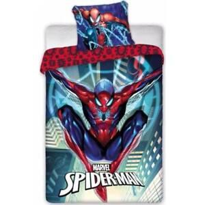 Spiderman Single Bed set Spider man Duvet Set Reversible cover bedding Type 4