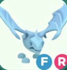 Adopt Me Frost Dragon fly and ride/Full Grown/cheap (READ DESCRIPTION)