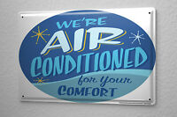 Fun Tin Sign Wall Decor Air conditioning for you