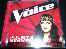 Juliet Simms (The Voice Australia) Highlight From Season 2 CD EP Single