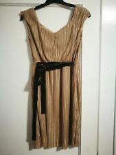 Vintage Golden Lindy Hop Dress S