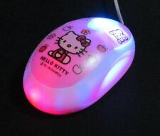 Hello Kitty USB 2.0 Retractable Mouse For PC Laptop Notebook Windows 10 Ready