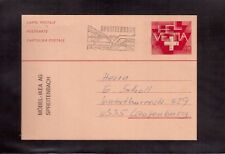 SWITZERLAND 1983 USED POSTAL STATIONERY !!