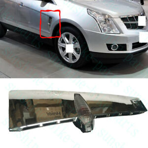 1X Car Front Right Passenger Fender Turning Lamp Cover For Cadillac SRX 2010-12