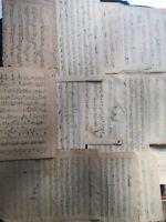 lotto 15 SPARTITI MUSICALI  manoscritti 1800 e primi 900