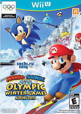 MARIO & SONIC AT THE SOCHI 2014 OLYMPIC WINTER GAMES Nintendo Wii U Game