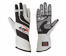 LRP Kart Racing Gloves- Speed Gloves Black/Gray