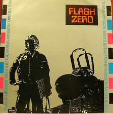 FLASH ZERO-TRANS-MISSION MAXI SINGLE VINILO 1989 SPAIN EXCELLENT COVER-