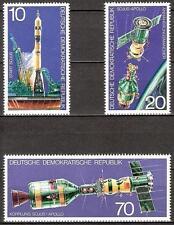 DDR Mi.Nr. 2083-2085** (1975) postfrisch/Raumfahrtunternehmen Sojus-Apollo