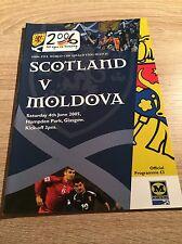 Scotland v Moldova 2004/05