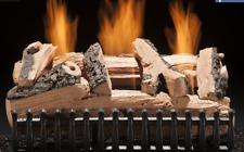 "Hargrove Western Pine Vent Free 18"" Gas Log Set Manual Valve"