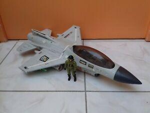 Véhicule avion GI Joe ghost striker ghoststriker hasbro 1993 + 1 figurine