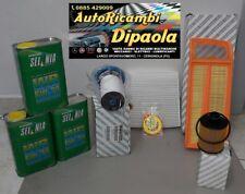 KIT TAGLIANDO FIAT 500L PANDA 312 12> 1.3 MULTIJET 3L 5W30 SEL+4FILTRI ORIGINALI