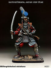 Kato Kiyomasa, Tin toy soldier 54 mm, figurine, metal sculpture HAND PAINTED
