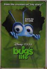 A BUG'S LIFE  DS ROLLED ADV ORIG 1SH MOVIE POSTER PIXAR JOHN LASSETER (1998)