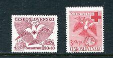 CZECHOSLOVAKIA B168-B169, 1949 RED CROSS,  MNH, (ID4762)