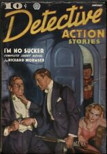 Detective Action 1937 January.      Pulp