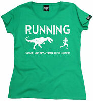 Running Some Motivation Required WOMENS T-SHIRT birthday gift gym running runner