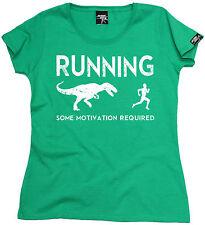 La ejecución de algunos motivación necesaria para Mujer T-shirt regalo de cumpleaños Gimnasio Correr Runner