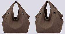 Women Ladies Quality Canvas Large Tote Bag Shoulder Handbag Shopper