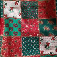 Vintage Joan Kessler Concord Christmas Holiday Quilt Cotton Fabric Patchwork BTY