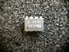 HCPL2531 AVAGO Dual Channel High Seep Optocoupler 8-Pin PDIP 10 PIECES