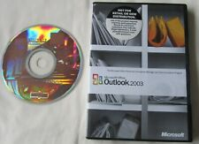 Microsoft Outlook 2003  CD with Product Key