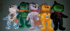 Wizard of Oz Celebrity Bears Dorothy, Scarecrow,Tinman,Lion and Wicked Witch!