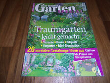 GARTEN SPECIAL -- TRAUMGARTEN LEICHT GEMACHT / Gartenlaube-Mini-Grundstück-Rasen