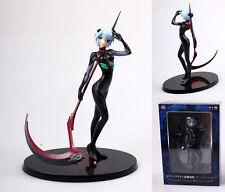 Sega EVA Evangelion Rei Ayanami Black Plug Suit Scythe 1/8 Figure 20cm Toy Gift