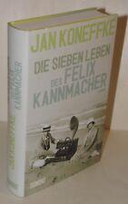 EA SIGNIERT Jan Koneffke - Die sieben Leben des Felix Kannmacher Roman Hardcover