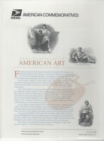 SSS: USPS 1998 Commemorative Panel #551 Four Centuries of American Art  Sc #3236