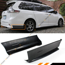 For 2011-18 Toyoto Sienna SE MP Style Rear Bumper Side Aprons Spats Caps Valance