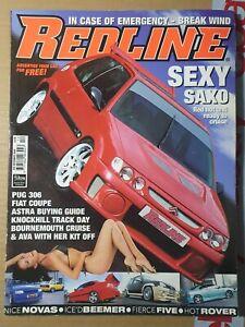 Redline Magazine December 2000 (387)(Rare) Citroen Saxo Fiat Coupe Nova Pug 306