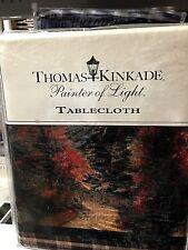 "Thomas Kinkade's 60"" x 84"" Mountain Landscape Tablecloth"