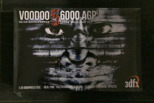 3dfx Voodoo5 6000 Box - Collectible in Shrink Wrap