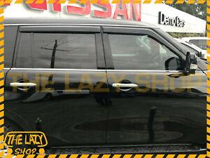 Weathershields Weather Shields for Nissan Patrol Y62 13+ Window Visor Luxury T