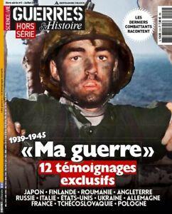 Guerres et Histoire Hors-série n°2 Ma guerre 12 témoignages État neuf
