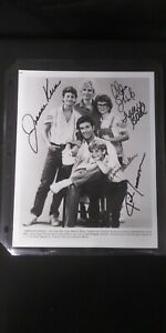"VINTAGE ""Growing Pains"" Show Cast AUTOGRAPHED Hollywood Poster"