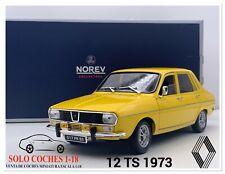 1:18 Renault 12 TS año 1973 color Amarillo Norev Ref.185212
