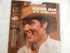 "Elvis ""Guitar Man"" PICTURE SLEEVE! NEW! MINT! ABSOLUTELY PERFECT!!"